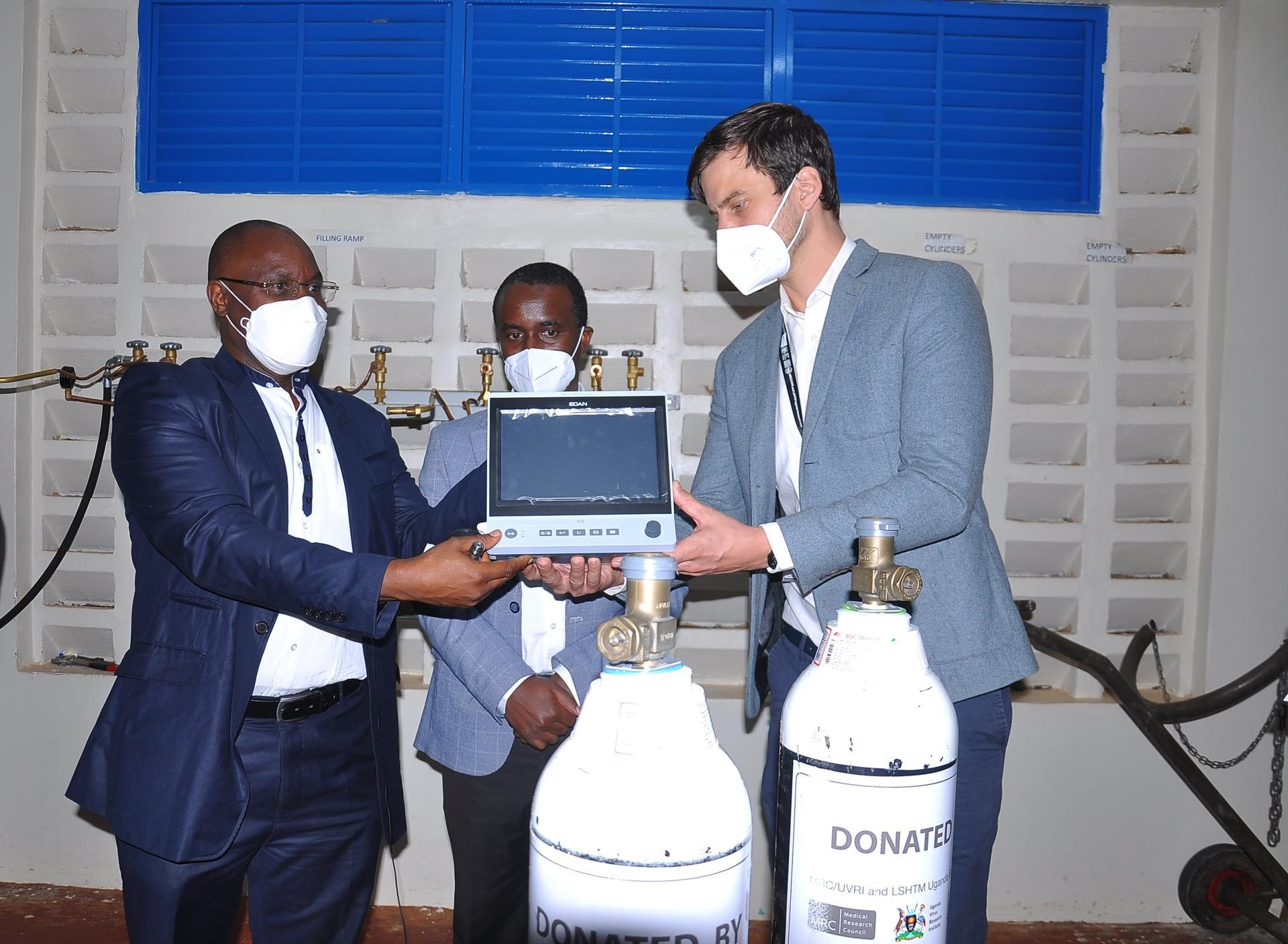 Entebbe hospital gets Shs250 ICU equipment