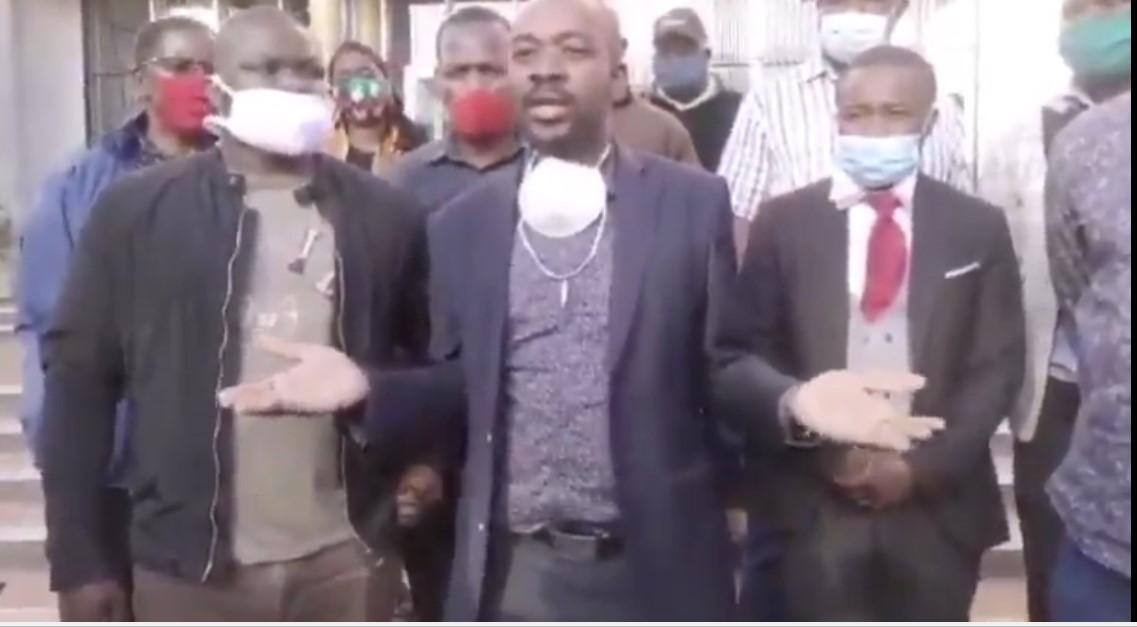 """""""Our Biggest Problem Has Been Infiltration"""" – Chamisa"""