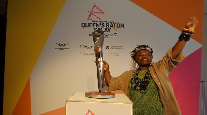 UK-based Zimbabwean Laura Nyahuye Designs 2022 Commonwealth Games Baton