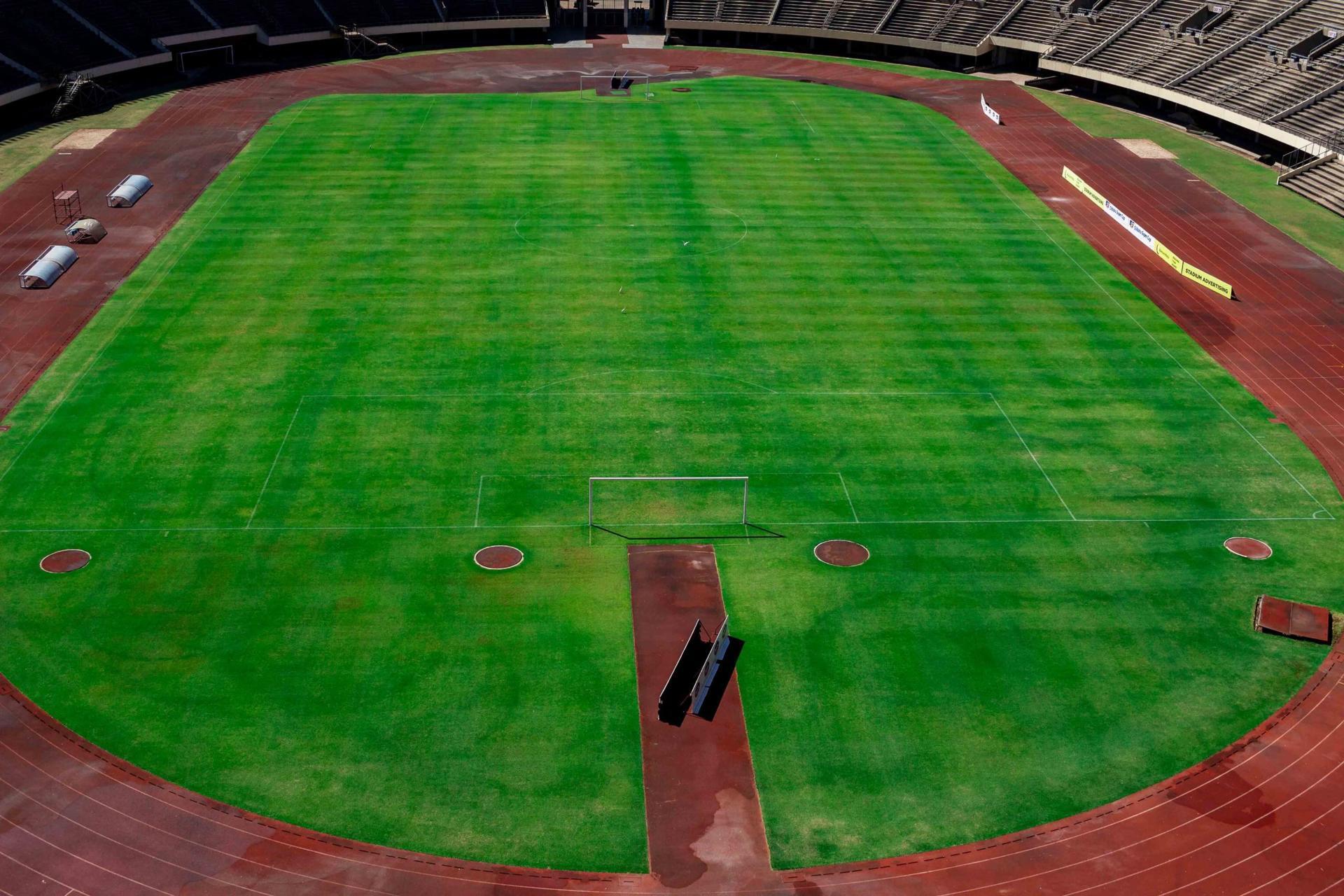 CAF Assesses National Sports Stadium