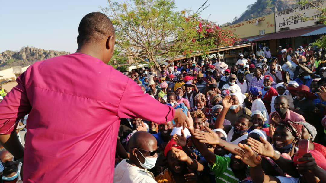 MDC-A Supporters Fundraise Bullet Proof Car For Chamisa